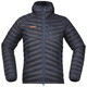 Bergans M's Slingsbytind Down Jacket w/Hood Night Blue/Dusty Blue/Pumpkin